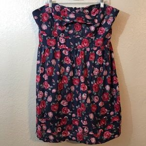 Torrid Strapless Floral Dress SZ 24